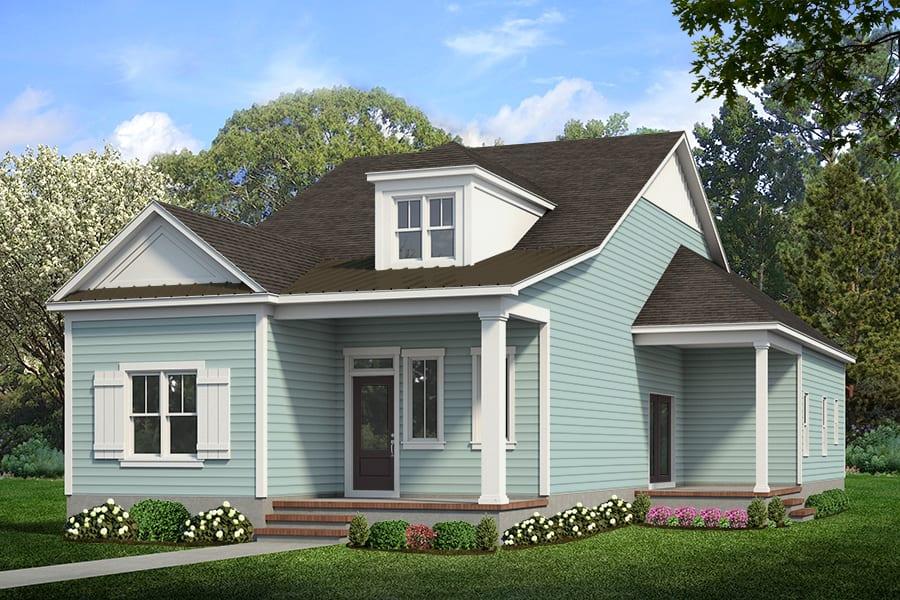 Herrington Classic Homes-Cottage Park   The Sawgrass   Option A & B