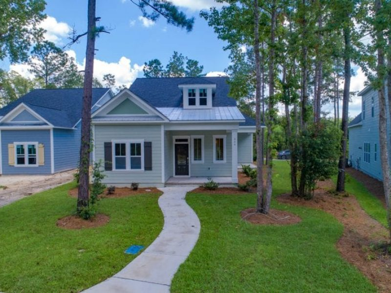 Herrington Classic Homes-Cottage Park | The Sawgrass | Option A & B