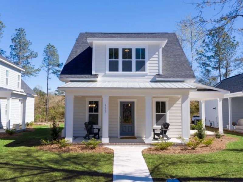 Herrington Classic Homes-Cottage Park | The Osprey | Option A & B
