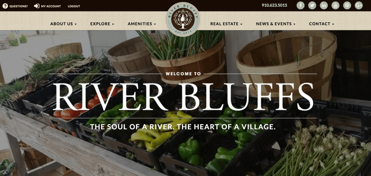 Dynamic and Engaging: River Bluffs Reveals Brand-New Website