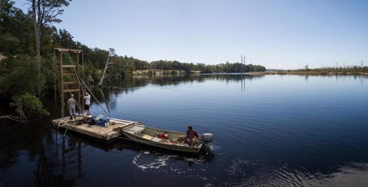 River Bluffs Creates Living Shoreline and Begins Construction for Marina & Riverwalk