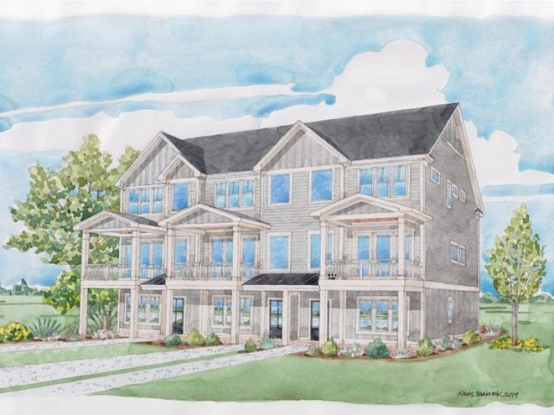 Vahue | Townhome Unit A | The Top Sail