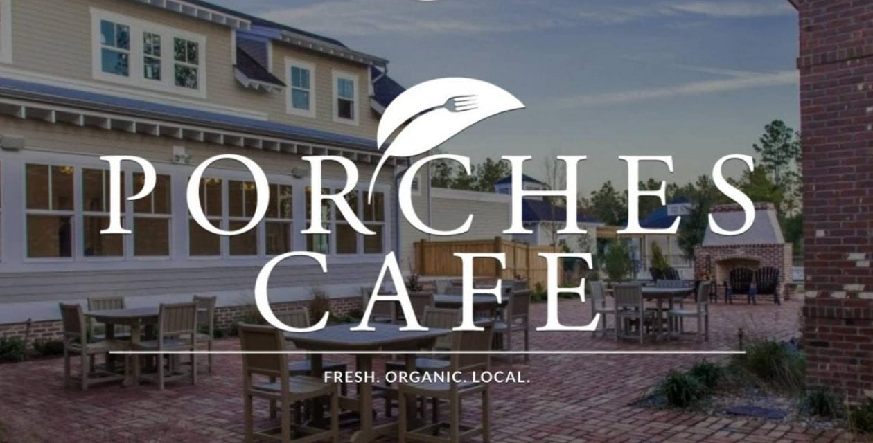 Porches Cafe: New Spring Hours of Operation